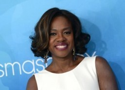 "Viola Davis will star in ""Suicide Squad"" in 2016. ©AFP PHOTO/ CHRIS DELMAS"