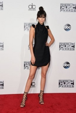 Kendall Jenner was a leading top model in 2015. ©AFP PHOTO / VALERIE MACON