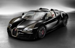 "Bugatti Legend ""Black Bess"" Only three examples will be built. ©2014 Bugatti Automobiles S.A.S"