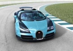 New Bugatti Veyron honoring Jean-Pierre Wimille presented at Pebble Beach