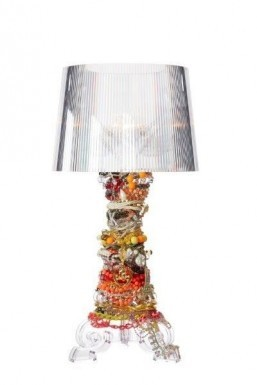 Kartell celebrates 10th anniversary of Ferruccio Laviani's Bourgie lamp