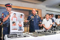PNP chief Bato dela Rosa warns men against receiving payoff from illegal gambling
