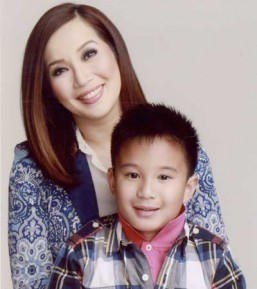 "Kris Aquino and James ""Bimby"" Yap, Jr. (MNS photo)"