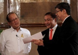 President Aquino leads Government-Owned and Controlled Corporations dividends day in Malacañang