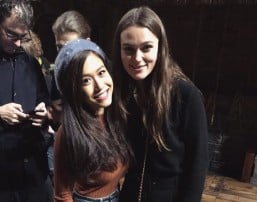 Rachelle Ann Go meets Keira Knightley in London