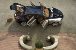 Bugatti 16 C Galibier Concept Bugatti has confirmed that it will be sticking purely with supercars and that the company has no plans to build a luxury sedan. ©© 2009 Bugatti Automobiles S.A.S