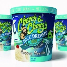 Cheech & Chong's Nice Dreams hemp ice cream ©Cheech & Chong's Nice Dreams ice cream