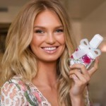 Romee Strijd gets her first solo fragrance campaign