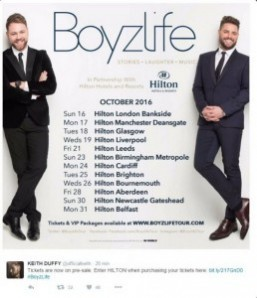 Boyzone and Westlife members join forces to create new boyband Boyzlife
