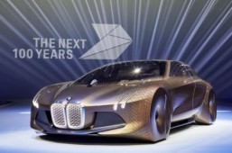 BMW marks 100 years with a next century concept car