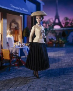 Barbie, no warts and all, comes to Paris