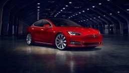 Tesla Model S gets a 2017 facelift