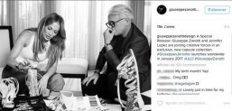 Jennifer Lopez launches shoe collection with Giuseppe Zanotti