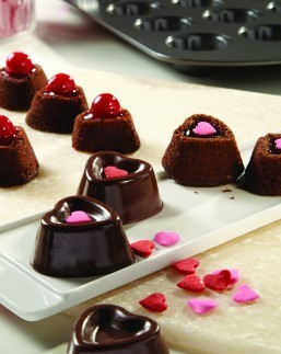 Chocolate Heart Petit Fours