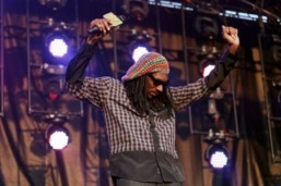 The rapper Snoop Dogg. © AFP PHOTO/SHAUN TANDON