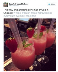 This summer's hottest frozen cocktail: the frosé