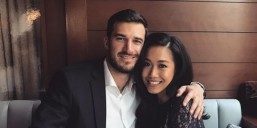 Rachelle Ann Go and fiancé Martin Spies (MNS photo)