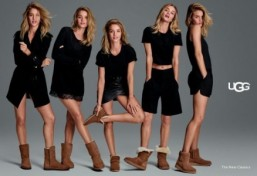 Sneak peek of Rosie Huntington-Whiteley in UGG boot fall campaign