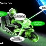 Kawasaki developing motorcycles with onboard AI