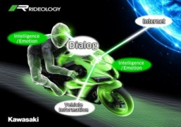 Kawasaki developing motorcycles with onboard AI