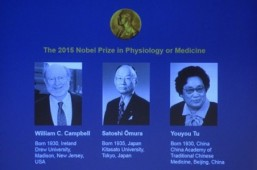 Recent winners of Nobel Prize in Medicine