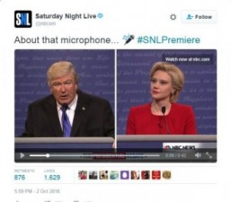 Alec Baldwin as Trump boosts 'SNL' audience to eight-year high