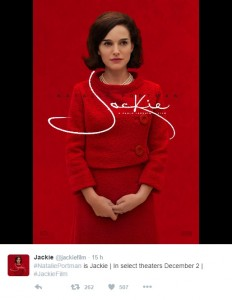 Watch Natalie Portman in first trailer for 'Jackie'