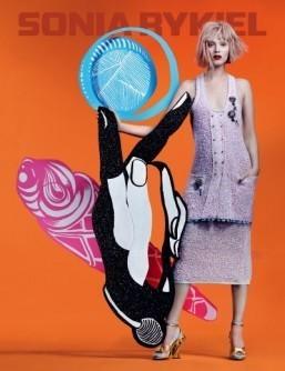 Sonia Rykiel Spring-Summer 2014 Campaign ©Sonia Rykiel