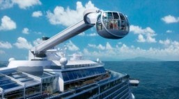 Royal Caribbean touts Quantum of the Seas' modern tech