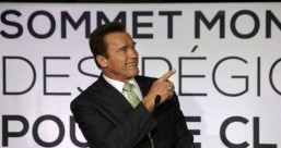 Schwarzenegger goes from Terminator to climate 'Innovator' Schwarzenegger goes from Terminator to climate 'Innovator'