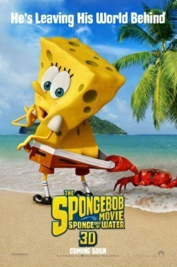 'SpongeBob' surfaces for new movie