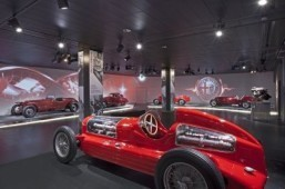 105 years of automotive history on display at the new Alfa Romeo museum