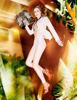 Nicole Kidman for Jimmy Choo, Spring-Summer 2014 ©Facebook.com/JimmyChoo - Sølve Sundsbø pour Jimmy Choo