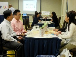 business matching at Crowne Plaza Hotel