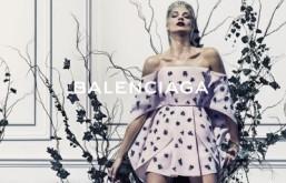 Daria Werbowy stars in Balenciaga Spring-Summer 2014 campaign