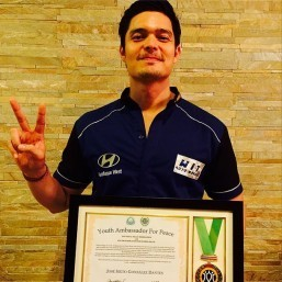 Dingdong Dantes hailed International Youth Ambassador for Peace