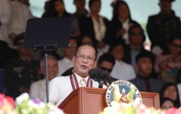 Aquino PMA grads: Resolve conflict fairly; empathize with poor