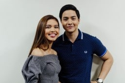 Alden Richards and Maine Mendoza (MNS photo)