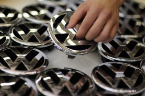 VW nears number one ranking with 8 million sales