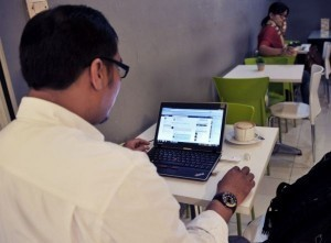 For many Indonesians, 'Fesbuk' is the only Internet
