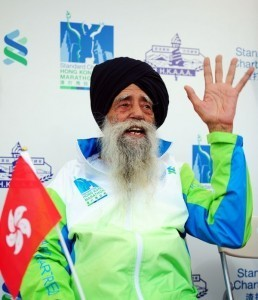 'Oldest marathon runner' competes in Hong Kong