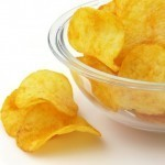 Potato chips that release salt on tongue early could help slash sodium levels