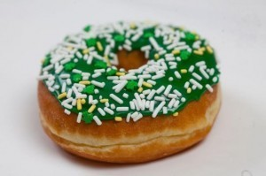 Donuts, ketchup and milkshakes go green for St. Paddy's Day