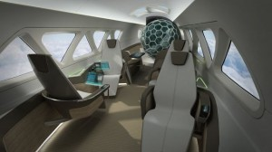 Fresh ideas about boring airplane seats on display in Hamburg