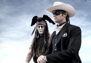 First look: Johnny Depp in 'The Lone Ranger'