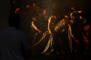 Restored Caravaggio 'Raising of Lazarus' on show in Rome