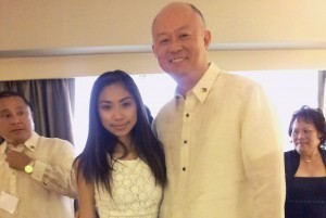 Jessica Sanchez finally meets Aquino in LA