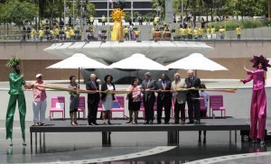 Grand Park is now open in Downtown Los Angeles
