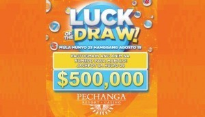 "Manalo ng $5 milyon sa ""Luck of the Draw"" mula sa Pechanga Resort and Casino"