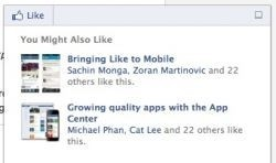 Facebook introduces social Recommendations Bar